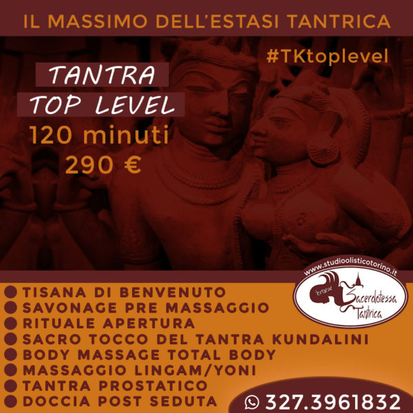 tantra top level con savonage torino
